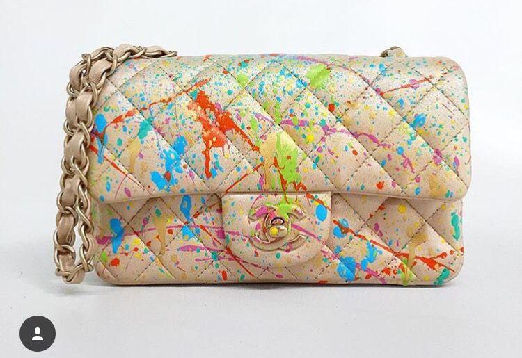 Chanel bag pintada