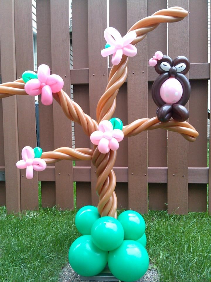 Owl tree twist balloon totally twisted animals