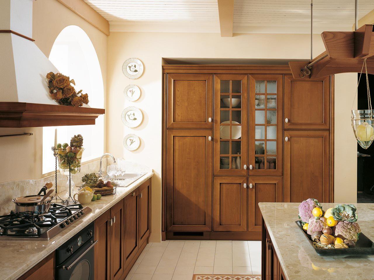 13 Idee Su Velia Ciliegio Cucine Lube Classiche Cucine Ciliegie Classico