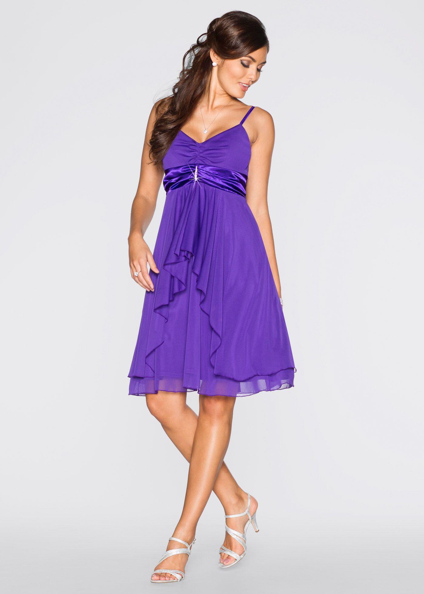Abendkleid lila - BODYFLIRT jetzt im Online Shop von bonprix.de ab   32, 266b9c95ba