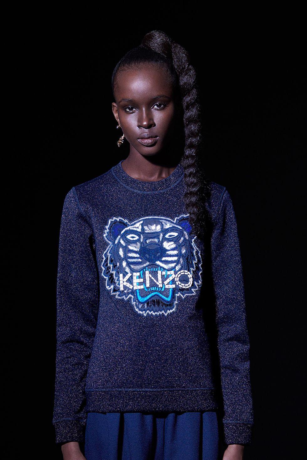 Sweat-shirt à perles pour elle Kenzo - Sweat-shirts & Pulls Kenzo Femme - E-Shop Kenzo