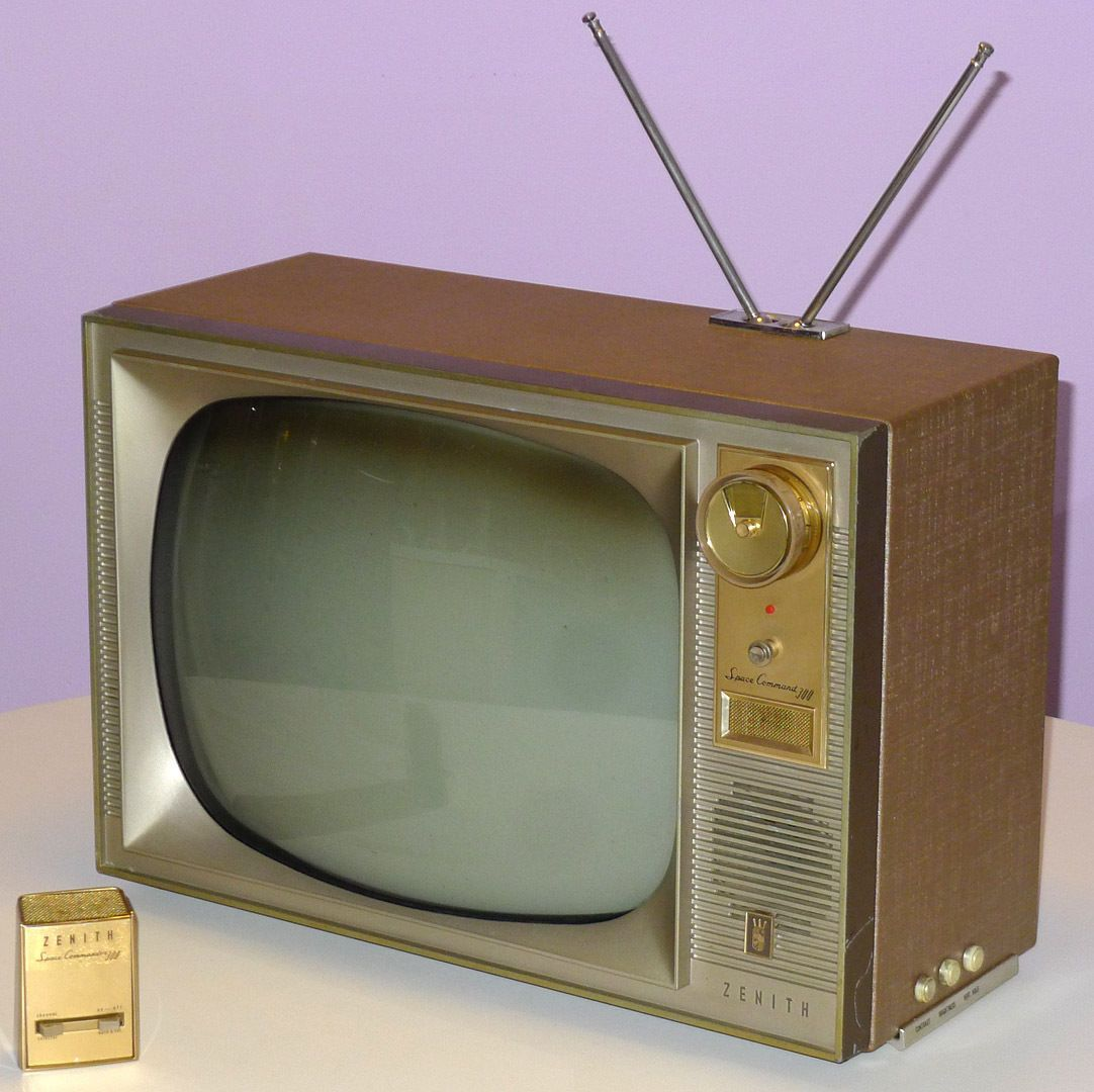 1959 Zenith Space Command TV and Remote  | 1950s & 1960s