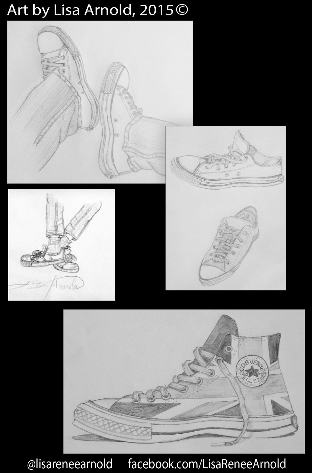 Converse Chuck Taylors By Author And Illustrator Lisa