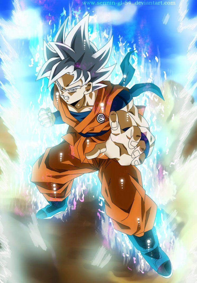 Goku Perfect Ultra Instinct Wallpaper