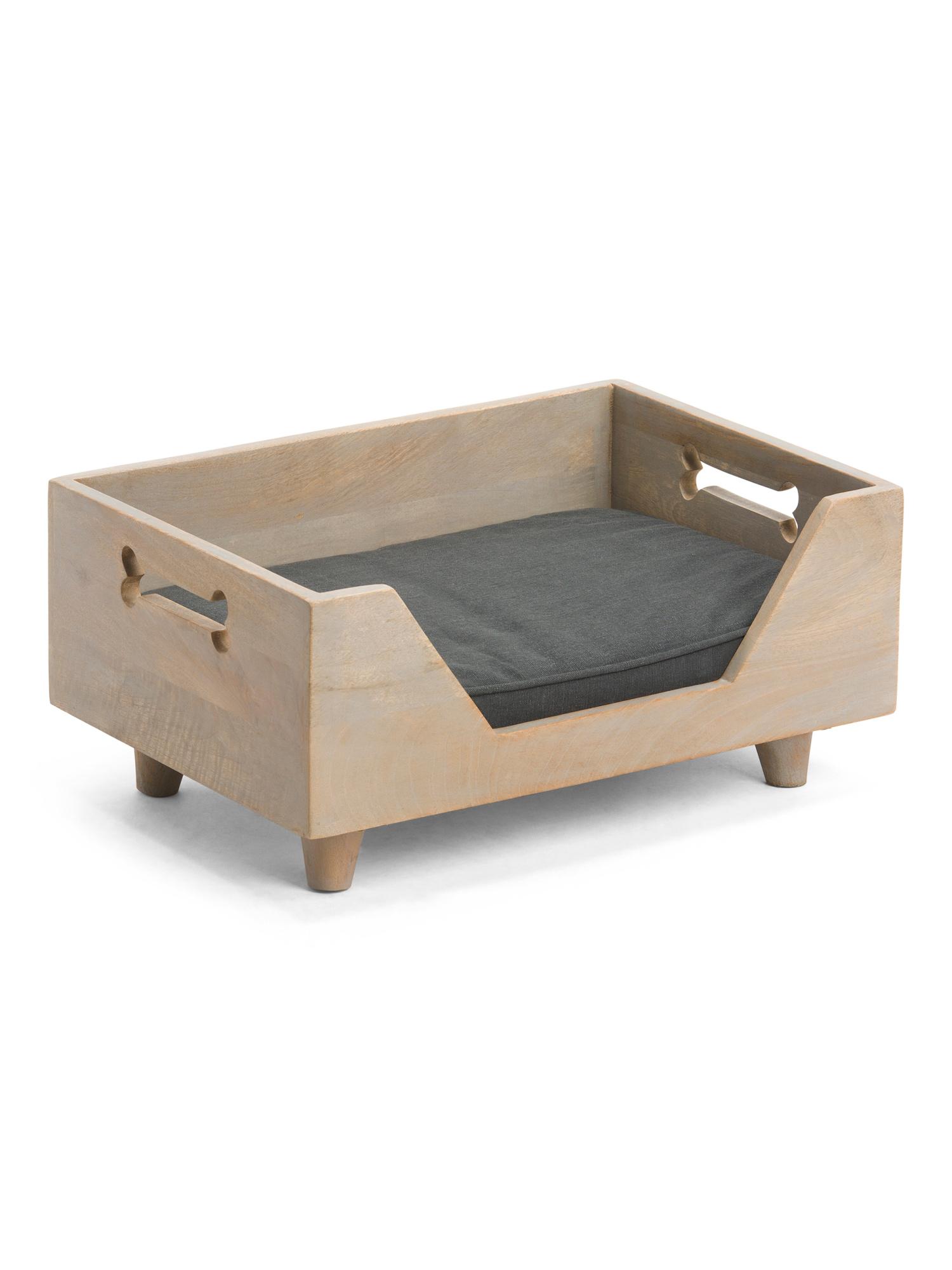 Wooden Pet Bed Pet T.J.Maxx Wooden pet bed, Bed, Pet bed