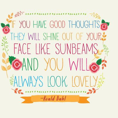 Image result for roald dahl sunshine out your face