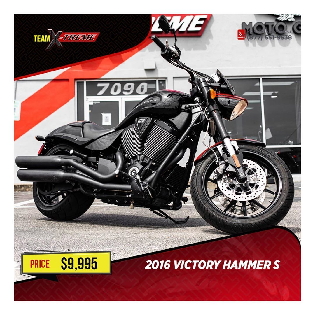 2016 Victory Hammer S 9 995 Condition Used Stock Number U050086 Category Motorcycles Model Type Cruisers Mod In 2020 Motorcycle Model Victory Hammer Good Credit
