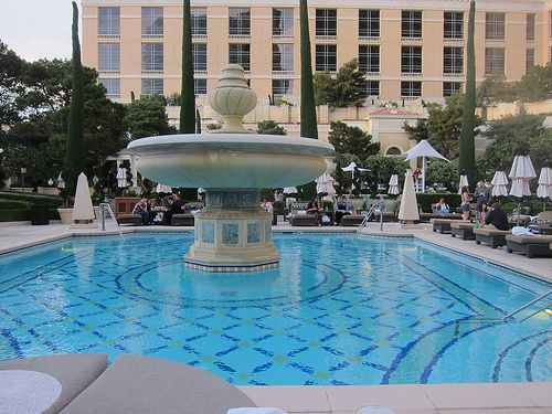 Bellagio hotel las vegas pools bellagio hotel las vegas pinterest vegas pools and vegas for Hotels in vegas with indoor swimming pools