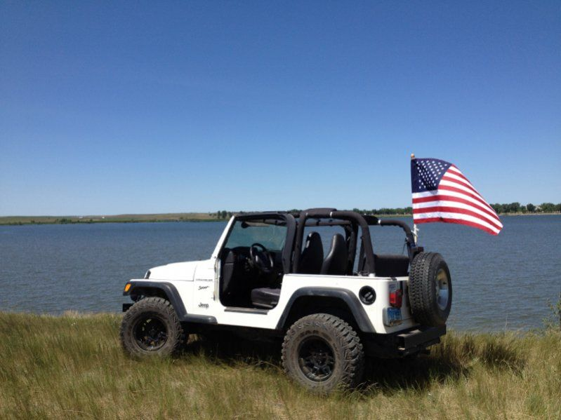 American Flag On Jeep Your Jeep American Flag Your Country