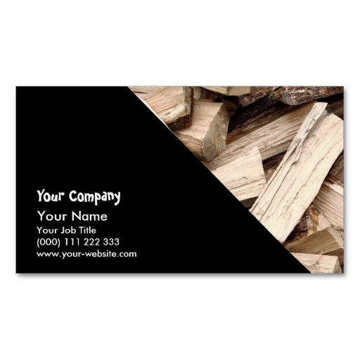 Firewood Business Card Zazzle Com Business Card Texture Business Card Template Wood Business Cards