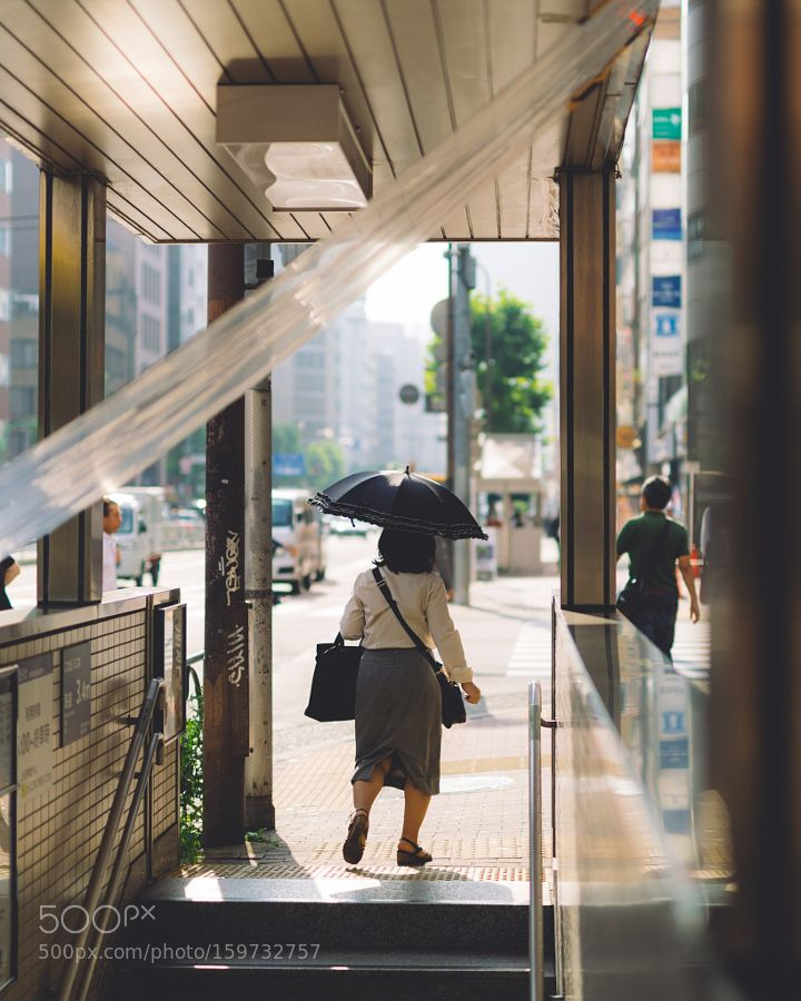 Shinbashi station by 446i