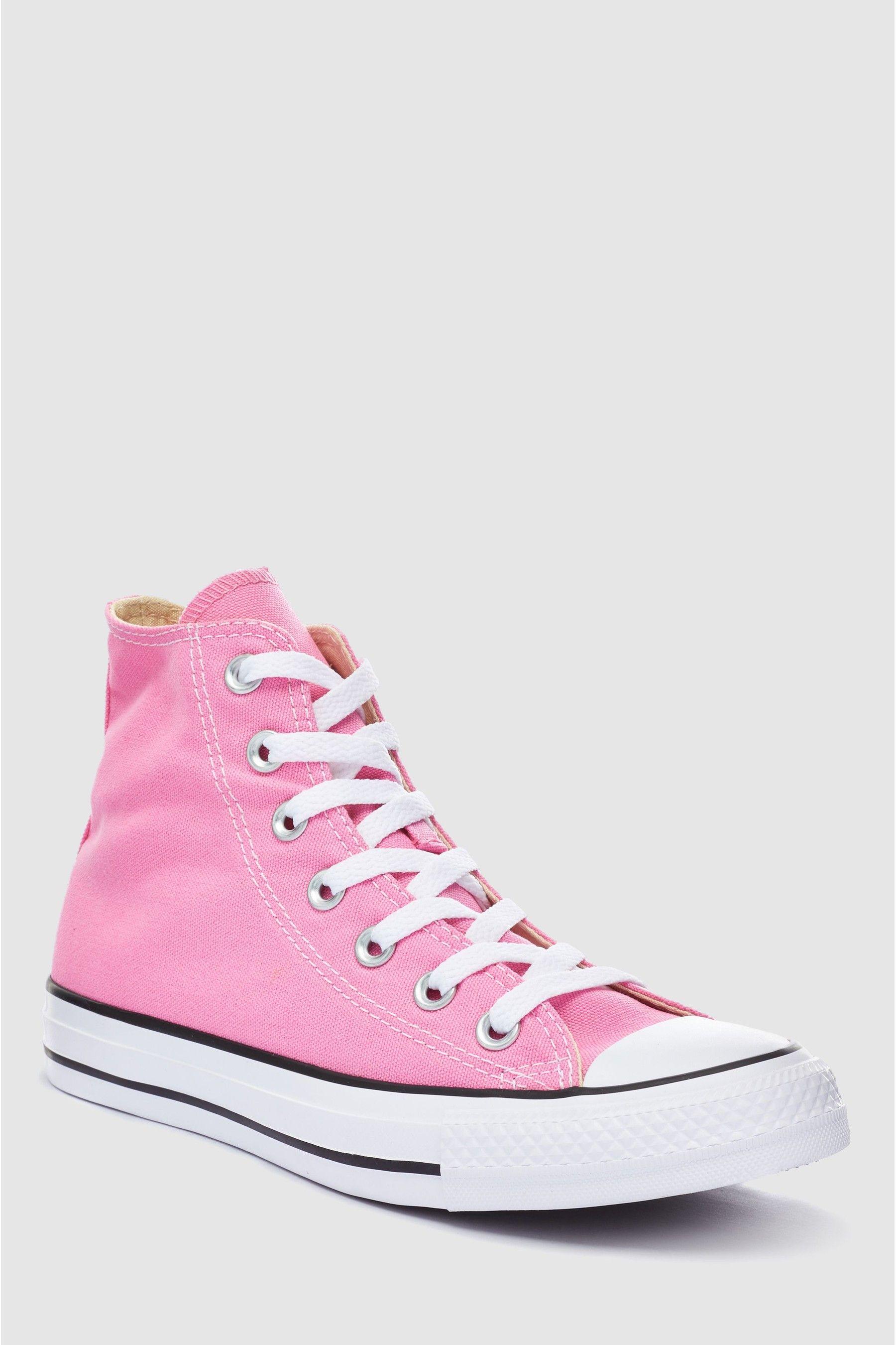 Girls Converse Youth Pink Chuck Hi