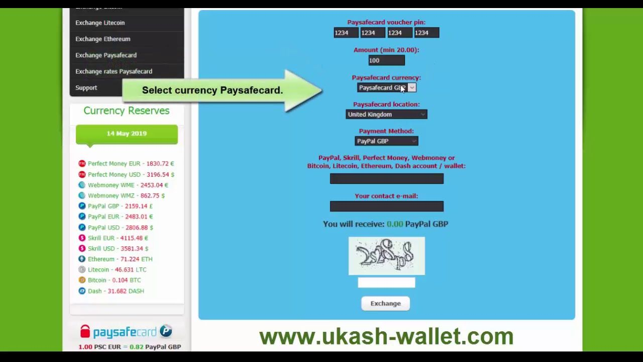 Paysafecard In Bitcoins Umwandeln