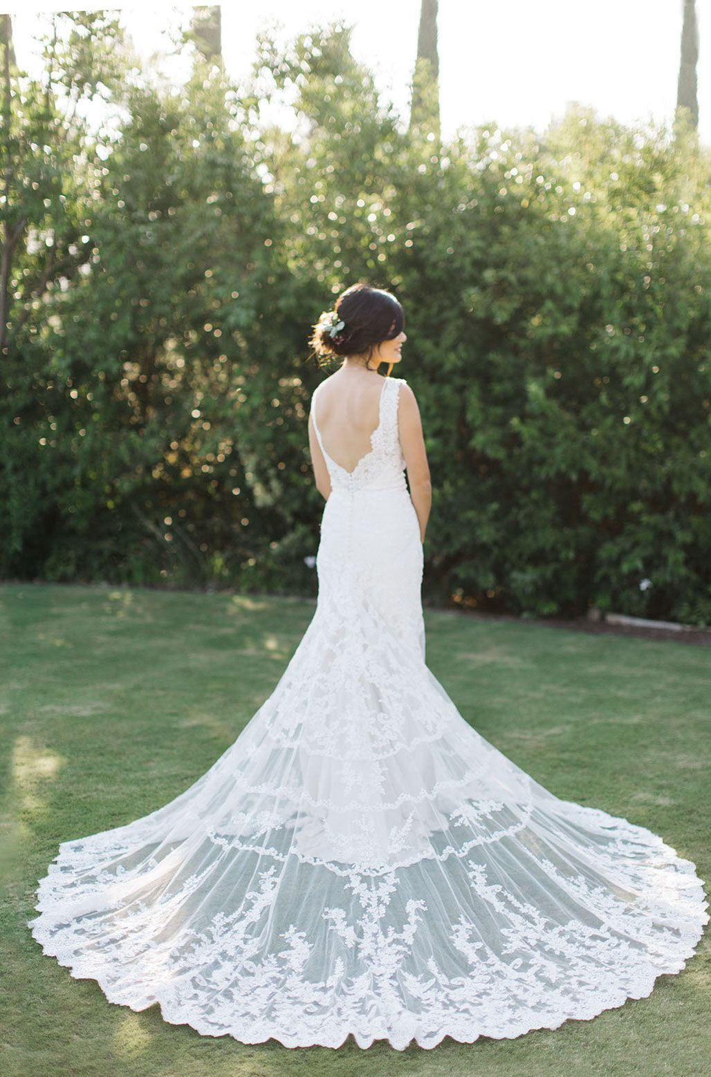 Bride Wearing Pronovias at Carmel Mountain Ranch Country Club in San ...