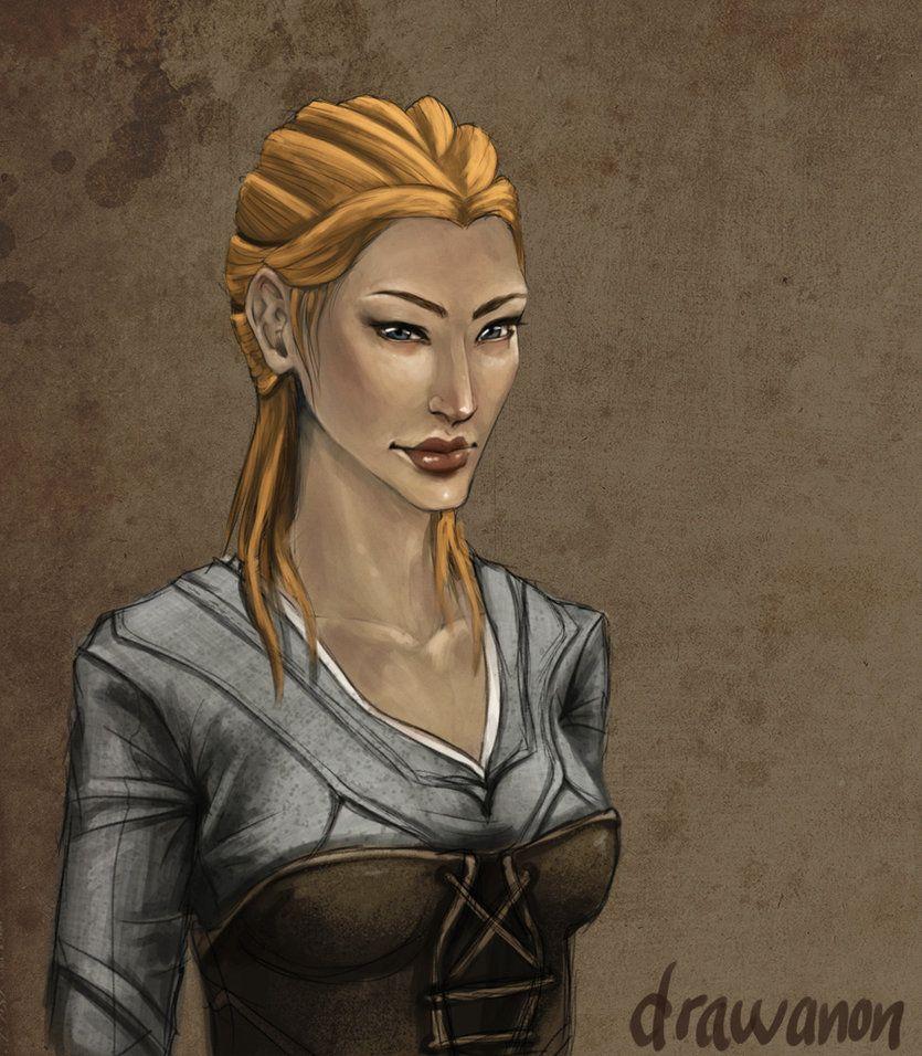 Ragnhild by drawanon on DeviantArt