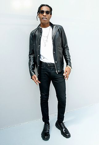 Celebrity Party Style Asap Rocky Man Style And Fashion