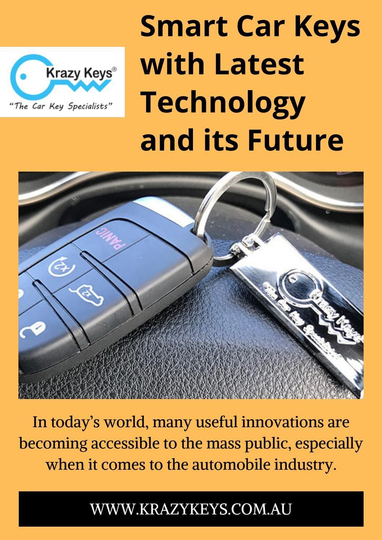 Benefits of having smart car keys smart car key car
