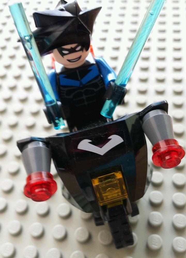 LEGO - Nightwing Batman Minifigure W/ Batons And ...