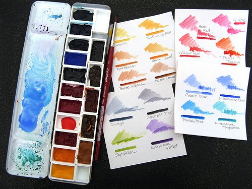 Pin On Watercolor Palettes