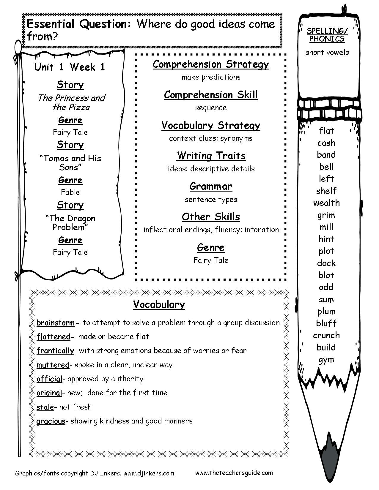 Mhschool spelling pdf 4th grade