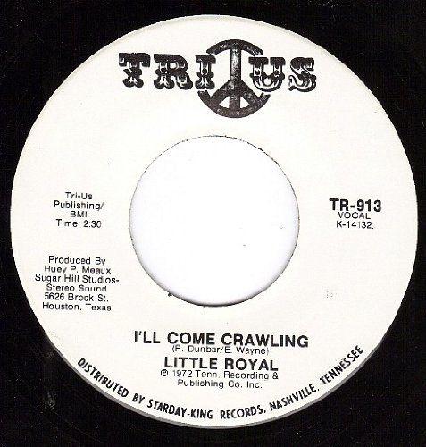 I'll Come Crawling/You'll Lose A Good Thing (NM 45 rpm) TRI-US http://www.amazon.com/dp/B005EBZE4C/ref=cm_sw_r_pi_dp_FYLDvb0MFH2X2