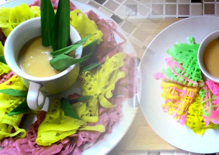 Resep Roti Jala Kuah Duren Oleh Dapur Adis Resep Rotis Pewarna Makanan Resep Roti
