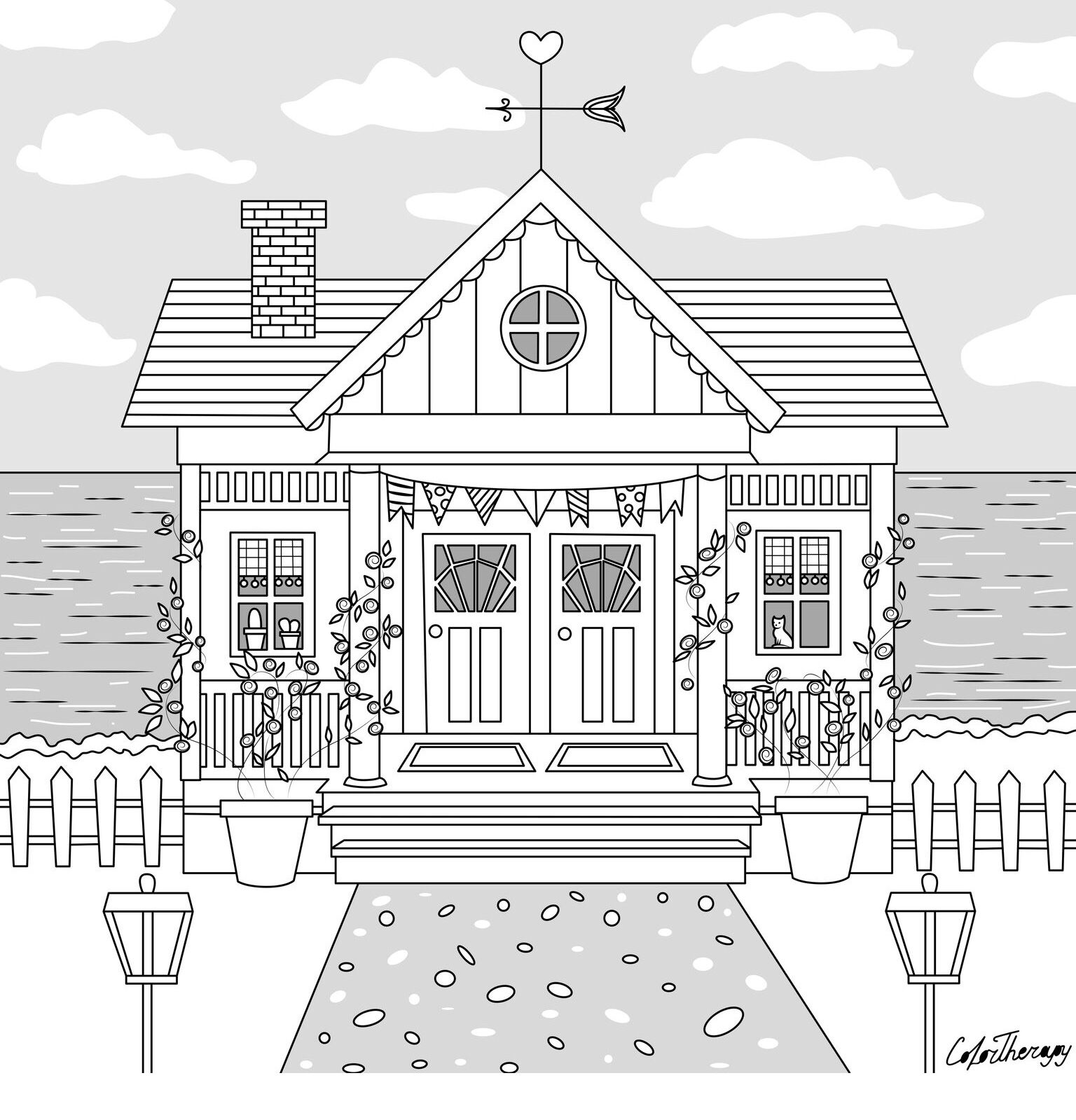 halloween therapy coloring pages - photo#35