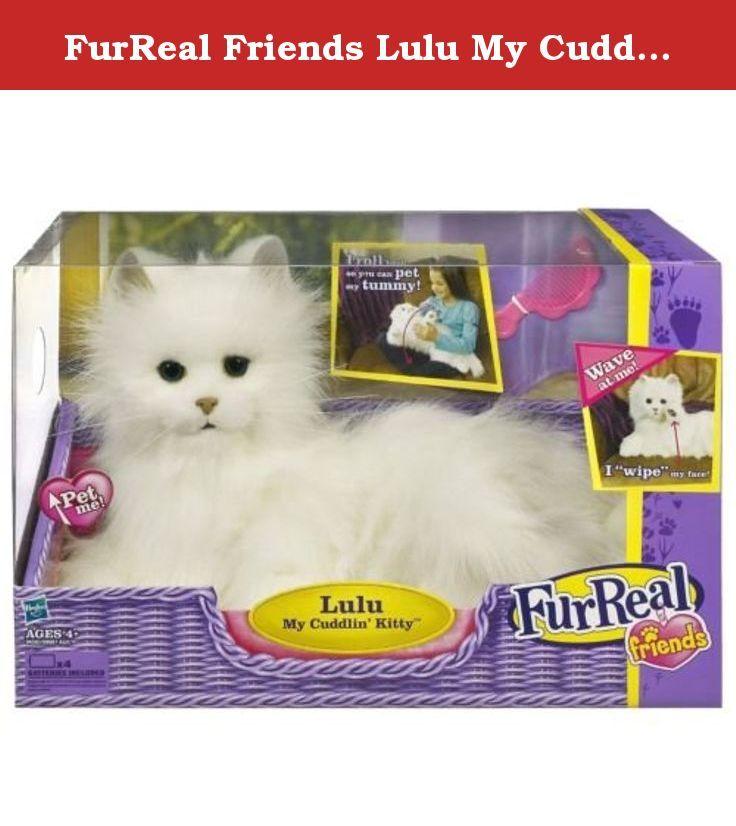 Furreal Friends Lulu My Cuddlin Kitty Cat Hasbro Furreal Friends Lulu My Cuddlin Kitty Cat This Adorable Feline Fur Real Friends Little Live Pets Kitten Toys