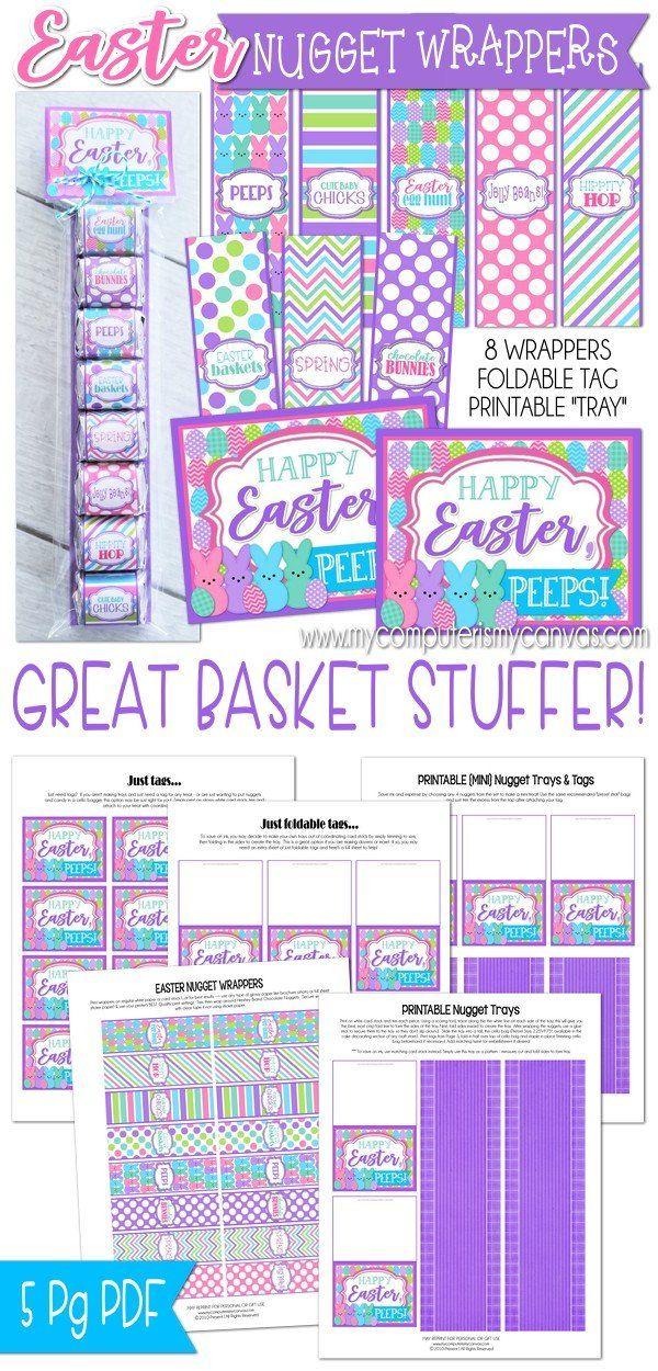 Easter printables easter basket stuffer easter gift idea easter easter printables easter basket stuffer easter gift idea easter treat egg hunt negle Images