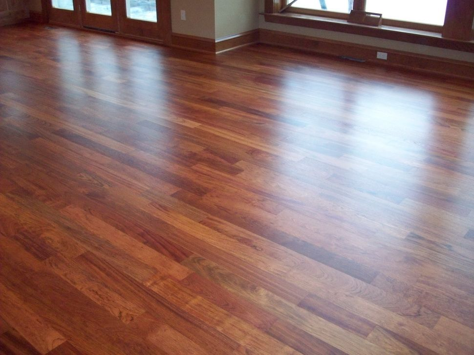 We Will Be Putting Brazilian Cherry Hardwood Floors In Our Bedrooms Soon Laminate Hardwood Flooring Wood Laminate Flooring Cherry Hardwood Flooring