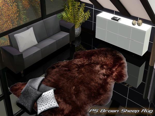 Pralinesims' PS Brown Sheep Rug