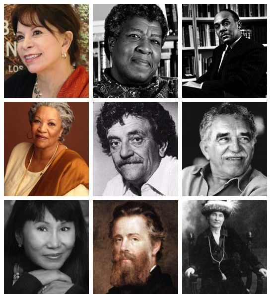 list of american writers and their works
