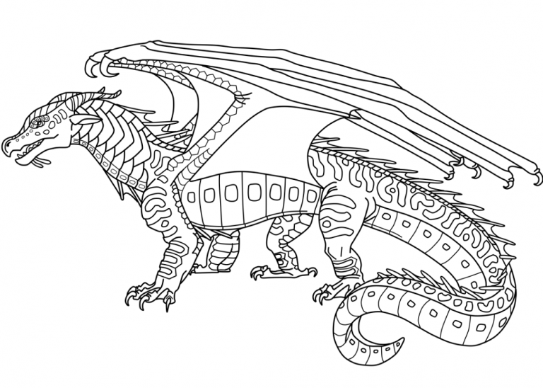 Wings Of Fire Coloring Pages Easy 101 Worksheets Wings Of Fire Wings Of Fire Dragons Dragon Coloring Page