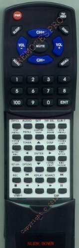 SONY Replacement Remote Control for 147955111, 147955112, RDRGX330, RMTD229A by Redi-Remote. $39.95. This is a custom built replacement remote made by Redi Remote for the SONY remote control number 147955111. *This is NOT an original  remote control. It is a custom replacement remote made by Redi-Remote*  This remote control is specifically designed to be compatible with the following models of SONY units:   147955111, 147955112, RDRGX330, RMTD229A  *If you have any conce...