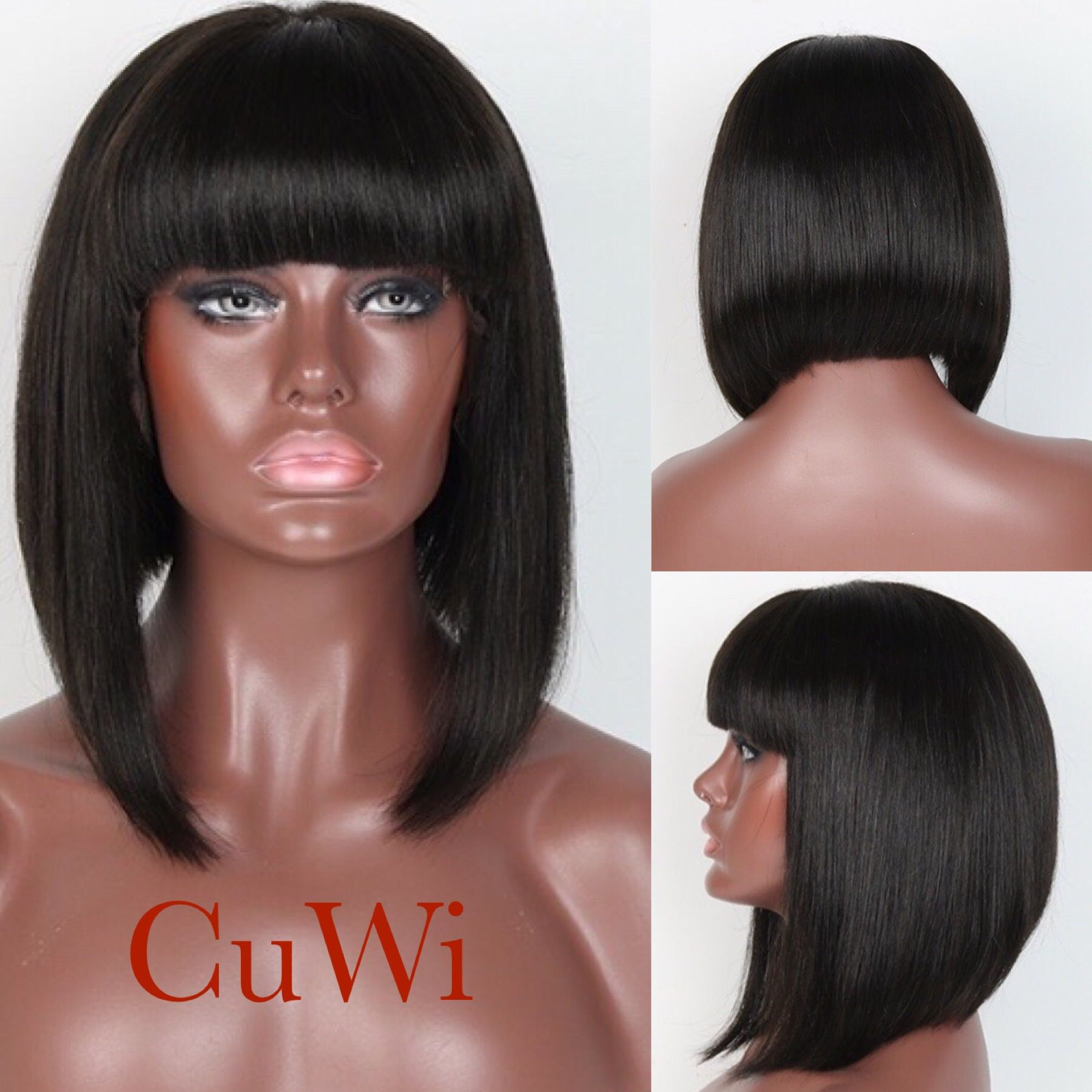 Cuwi short bob look can u wig it pinterest wigs lace front