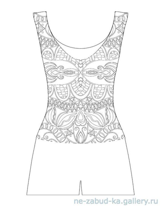 Pin de Coloring Pages for Adults en Fashion Coloring Pages for ...