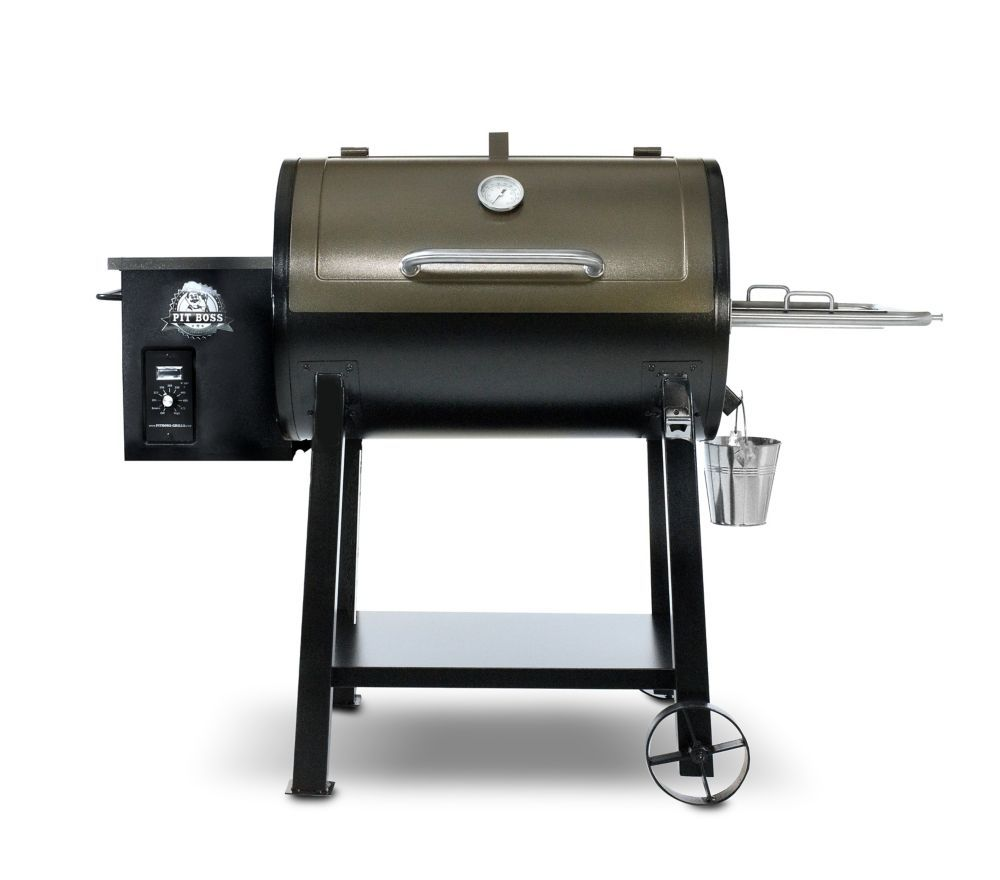 PB440D Pellet Grill w Flame Broiler   Wood pellet grills