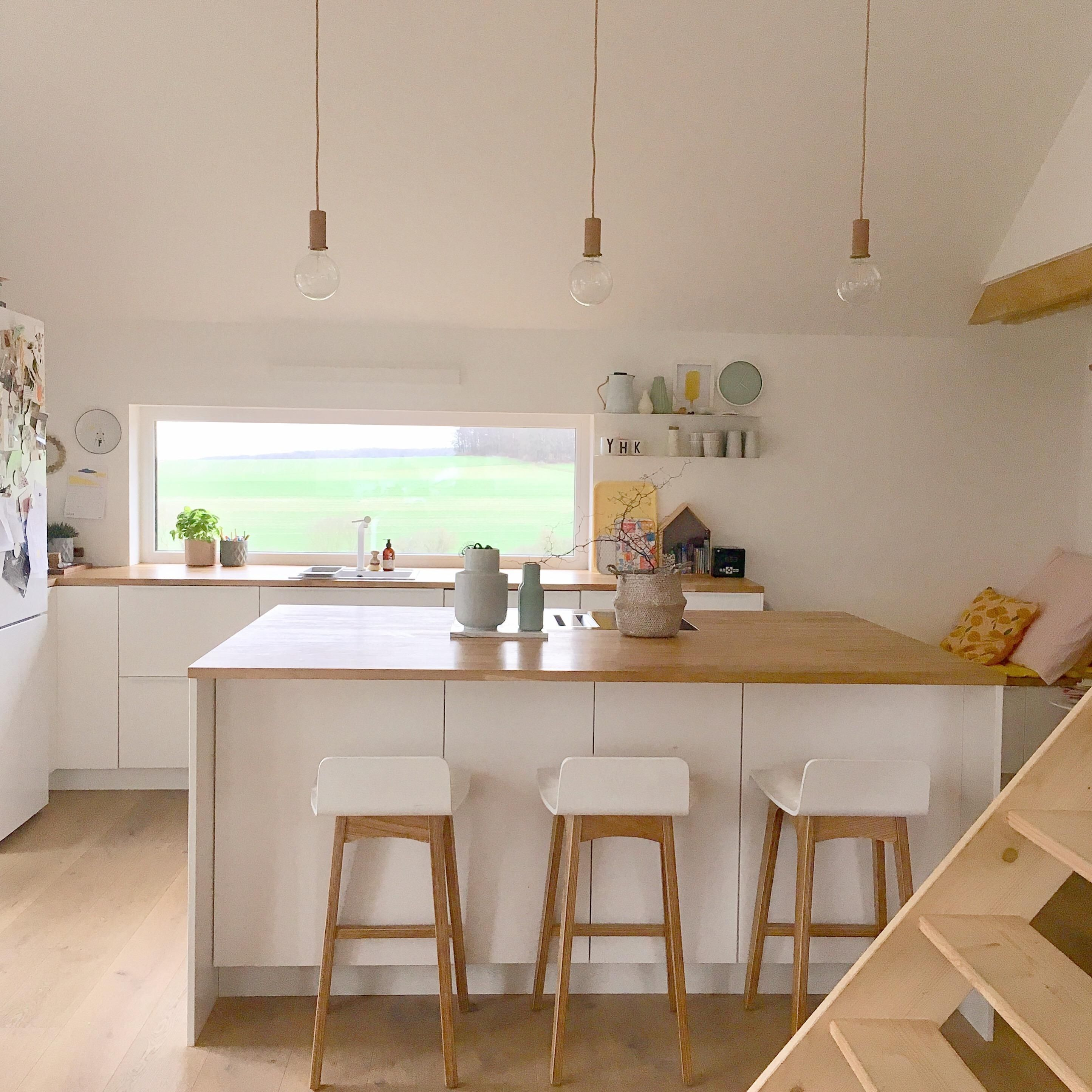 Kitchenstories. küche skandinavisch in 2020   Offene küche wohnzimmer, Haus küchen, Moderne küche