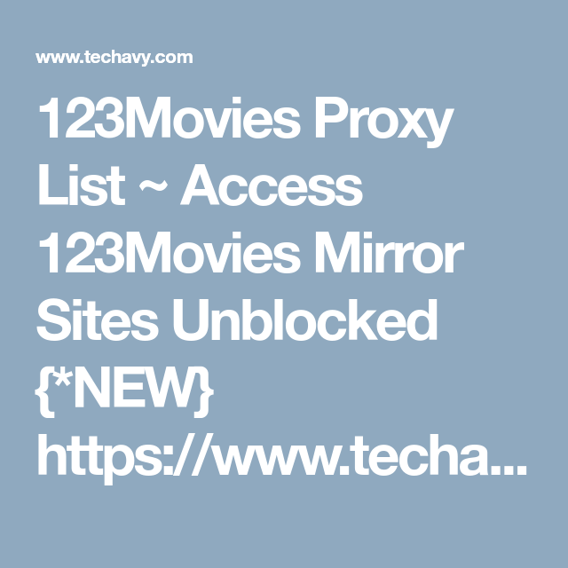 free unblocked movies 123
