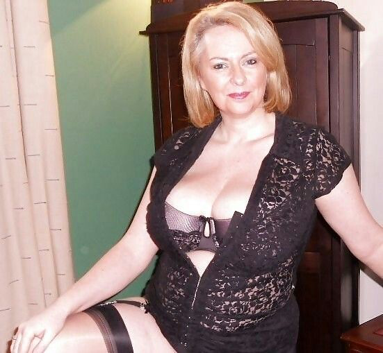 Mature lady and lingerie