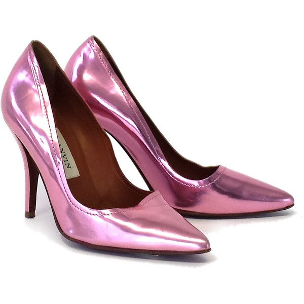 Pre-owned - Purple Leather Heels Lanvin nfHFOx