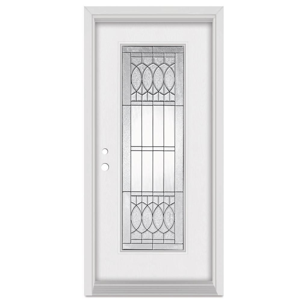 Stanley Doors 33.375 in. x 83 in. Nightingale Right-Hand Patina Finished Fiberglass  sc 1 st  Pinterest & Stanley Doors 33.375 in. x 83 in. Nightingale Right-Hand Patina ... pezcame.com