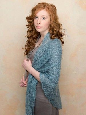 This Summery Lightweight Shawl Is A Free Knitting Pattern Download