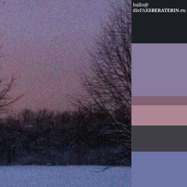 Altrosa Farbe farbpalette zwielicht farbprofil farbkombination farbe schwarz