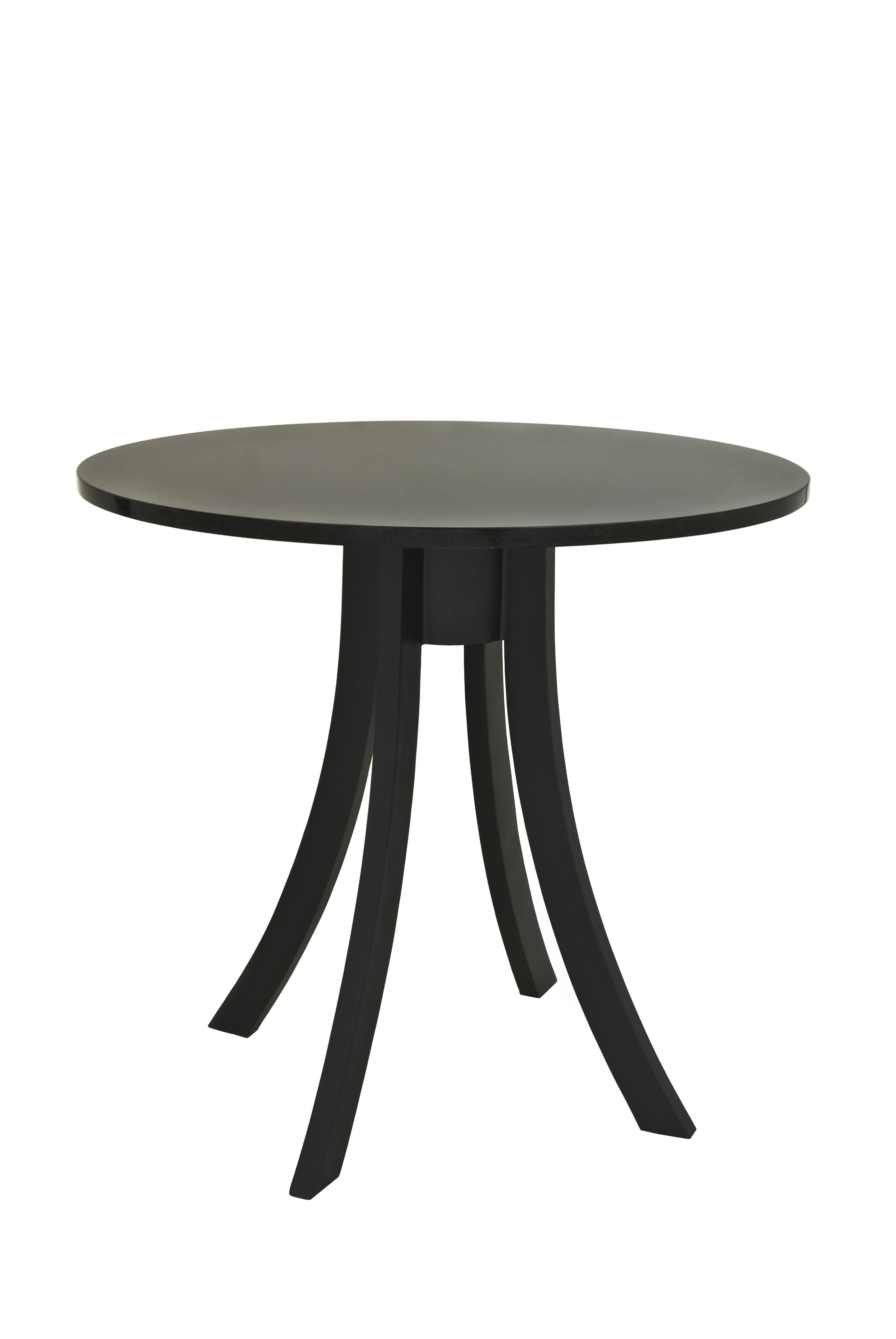 The Medusa End Table Finished In Matte Black Painted Base With Absolute Black Granite End Tables Table Dining Table