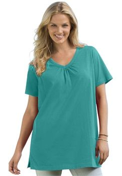 ce2d3599c10 ... Casual Plus Size Clothing for Women. Top in tunic length