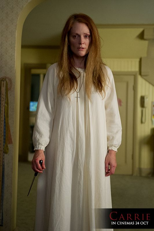 CARRIE. Starring Chloe Moretz and Julianne Moore. #Carrie #movies #films #hollywood #celebrities