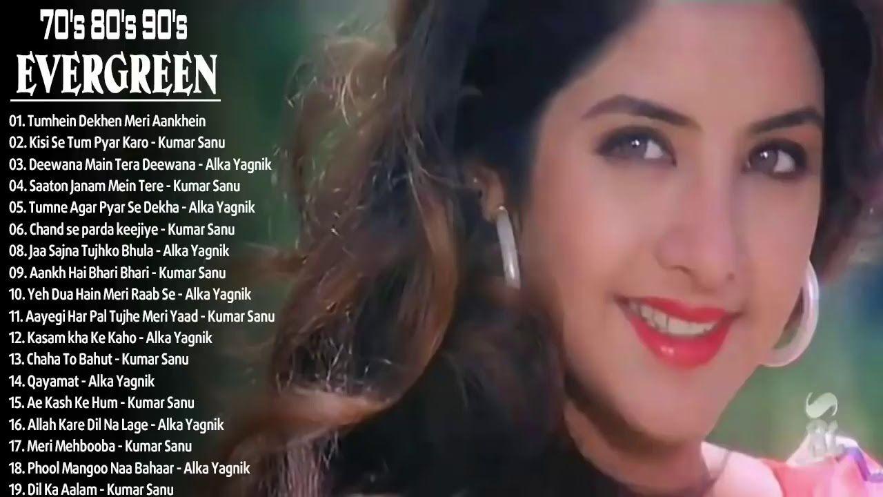 Best Of Romantic Alka Yagnik Udit Narayan Kumar Sanu 90 S 80 S 70 S Songs Best Songs Evergreen Songs