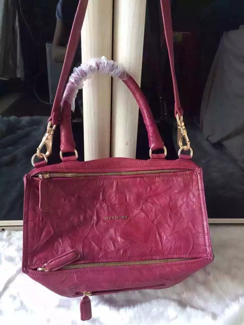S S 2016 Givenchy Collection Outlet-Givenchy  PANDORA  Large Rose Pepe  Sheepskin Leather Bag Sale Online 13a79eb7fba4c