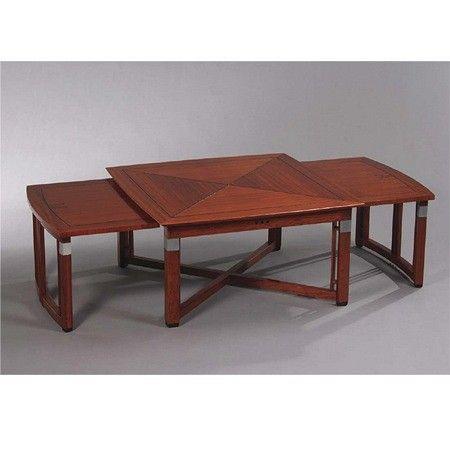 Schuitema Decoforma Salontafel.Art Deco Uitschuifbare Salontafel Henry Art Deco Coffee Table